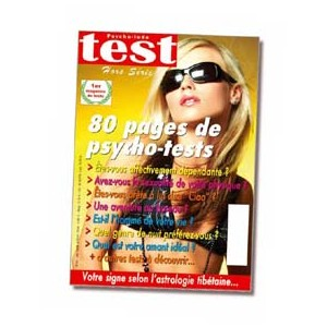 80 pages de super psycho-tests