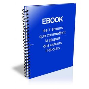 Ebook : les 7 erreurs à ne pas commettre