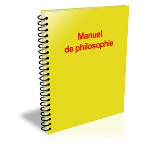 Manuel de philosophie