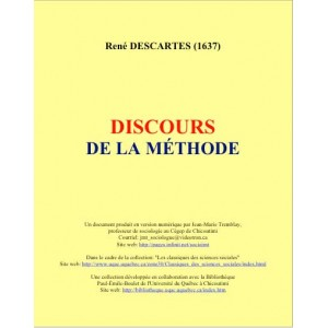 Descartes- Discours de la méthode
