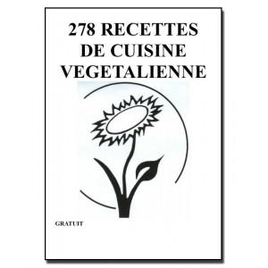 278 RECETTES  DE CUISINE  VEGETALIENNE