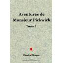 Aventures de  Monsieur Pickwick  Tome 1- Dickens