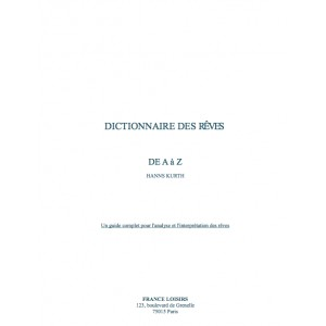 dictionnaire des r ves de a z les meilleurs ebooks en fran ais t l charger gratuitement. Black Bedroom Furniture Sets. Home Design Ideas