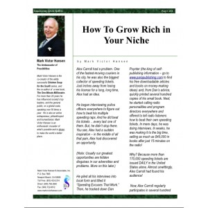 How To Grow Rich in Your Niche
